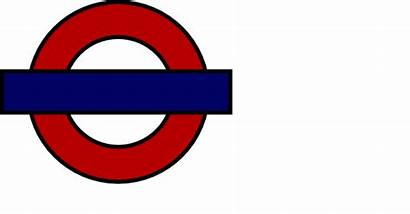 London Tube Sign Clip Clipart Clker Getdrawings