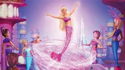 Barbie Desktop Wallpapers Mermaid Computer Princess Latest