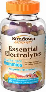 Sundown Naturals Electrolyte Gummies 60 Ct