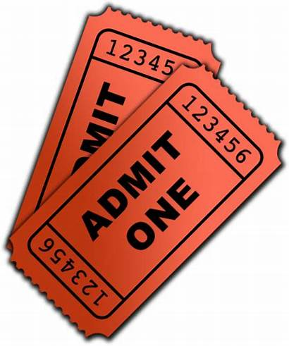 Admit Transparent Clipart Ticket Tickets Trouble Freeiconspng
