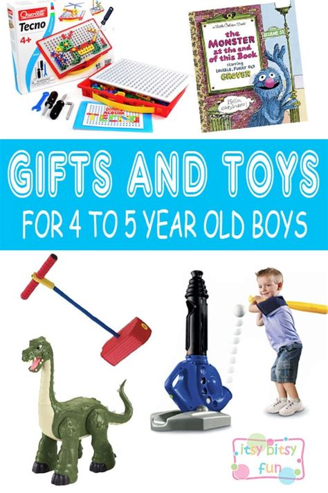 Best Gifts For 4 Year Old Boys In 2017  Itsy Bitsy Fun