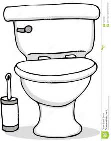 Cleaning Toilet Clip Art