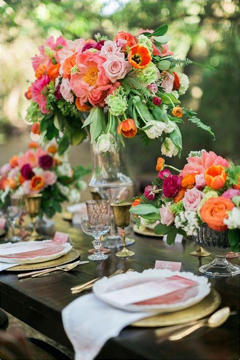 Colorful Spring Wedding Ideas Summer Wedding Colors