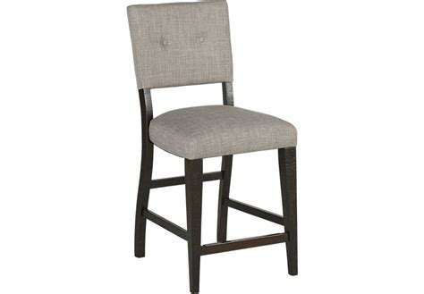 hill creek black counter height stool barstools black
