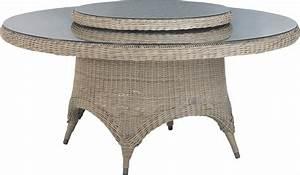 Table Resine Tressee : tenue d 39 jardin victoria table de jardin en r sine tress e ~ Edinachiropracticcenter.com Idées de Décoration