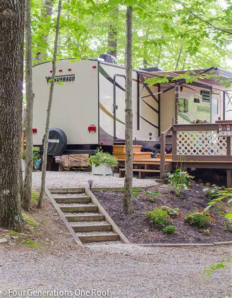 campsite deck makeover   campsite