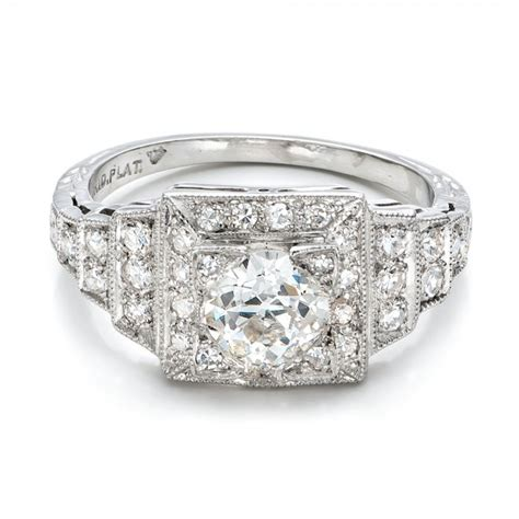 estate engagement ring 100899 seattle bellevue joseph jewelry