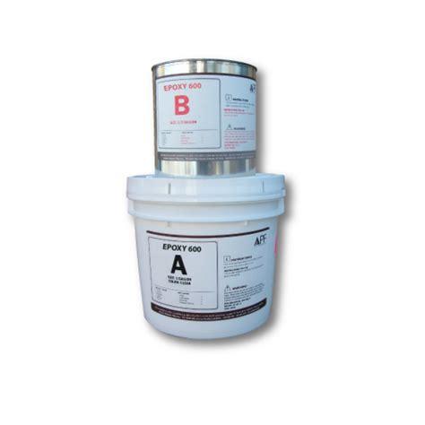 arizona polymer flooring epoxy 600 apf epoxy 600 1 5 gallon kit concrete texturing