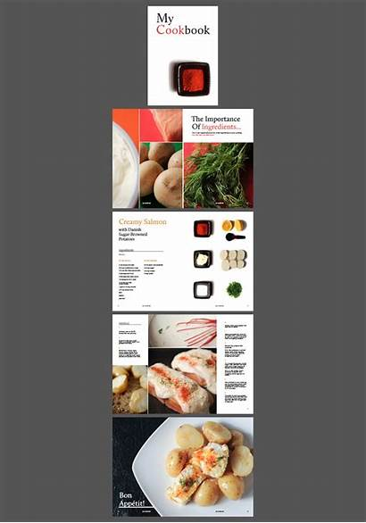 Layouts Indesign Cookery Striking Own Using Layout