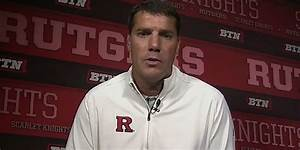 WATCH: Rutgers head coach Chris Ash talks with Big Ten Network