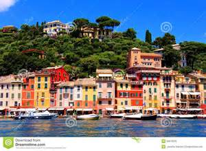 mediterranean house plans with photos colorful coastal italian town stock photo image 39676230