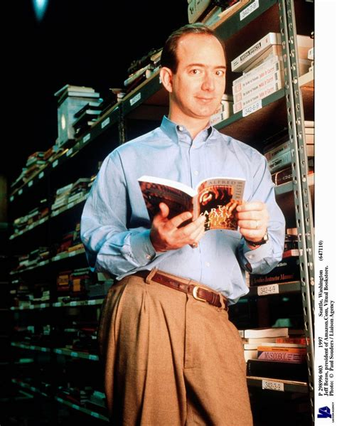 Old photos of Jeff Bezos are truly a sight to behold