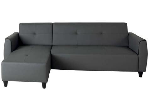 canapé soldes conforama canapé d 39 angle fixe 4 places 5 coloris gris en pu