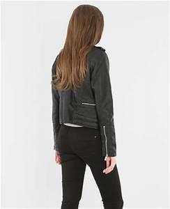 Veste Style Motard Femme : veste femme pimkie ~ Melissatoandfro.com Idées de Décoration