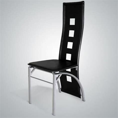 chaises pour salle manger chaises dossier haut salle à manger le monde de léa