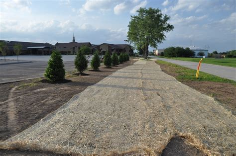 landscape erosion straw blanket indianapolis landscaping supplies mccarty