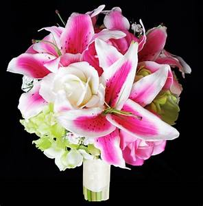 Natural Touch Pink Stargazer Lily Bouquet