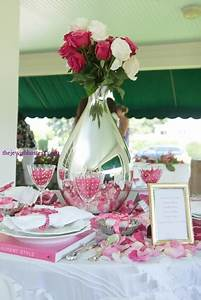 Fantasy Mother's Day Party Table Setting at Table Set Go ...