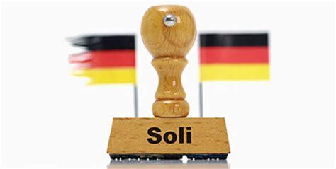 Ökonomen: Der Soli-Zuschlag muss weg