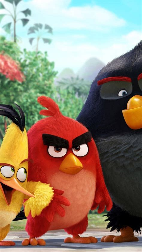 angry birds  characters iphone  hd wallpaper hd