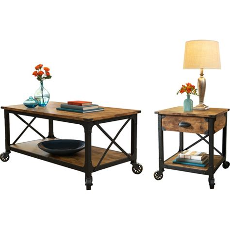 living room coffee tables walmart better homes and gardens rustic country 2 living
