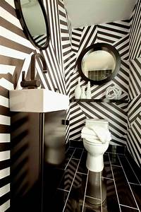 Contemporary black and white bathroom ideas, designs
