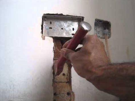 fit  flush double metal  box  double socket