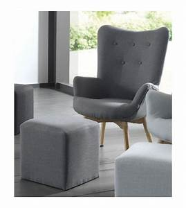Fauteuil Vintage Scandinave : fauteuil fox jungle de la marque 366 concept ~ Dode.kayakingforconservation.com Idées de Décoration