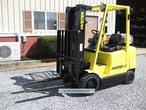 Hyster S50xm Manual