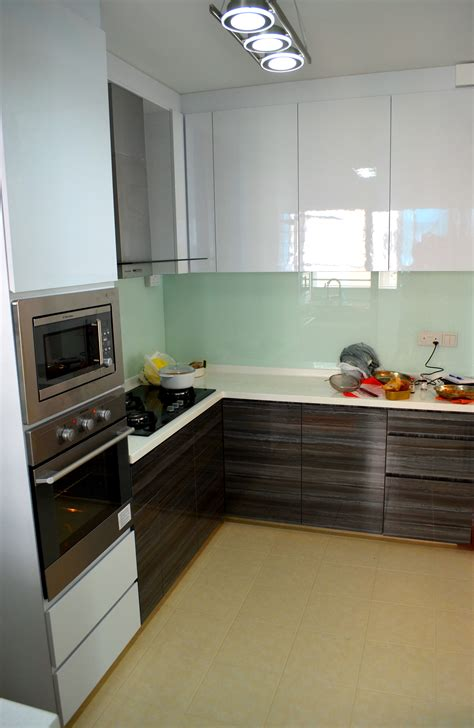 kitchen cabinets hdb flats contemporary design in hdb 4 room type in