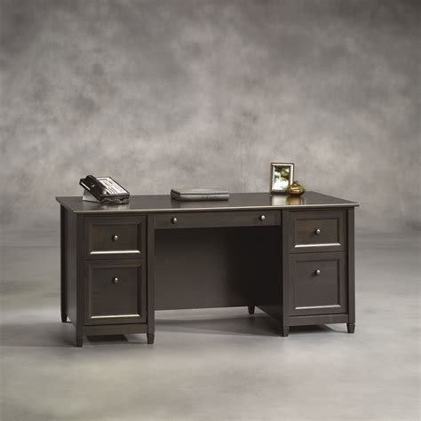 sauder edge water computer desk assembly sauder edge water executive desk