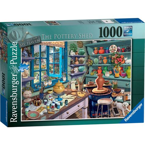 the pottery shed ravensburger the pottery shed jigsaw puzzle 1000 pieces