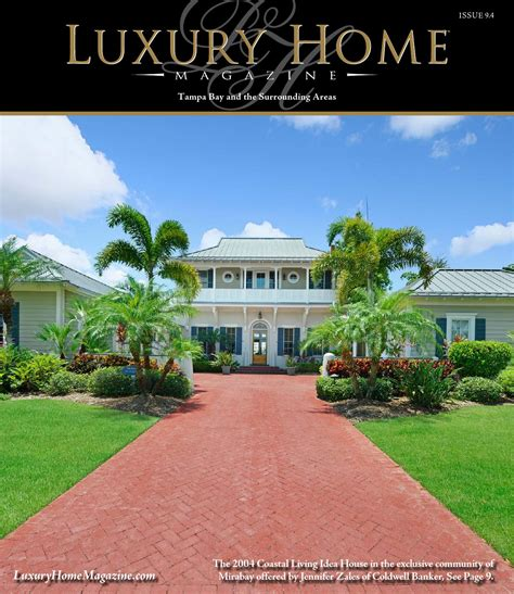 luxury home magazine tampa bay issue   luxury home