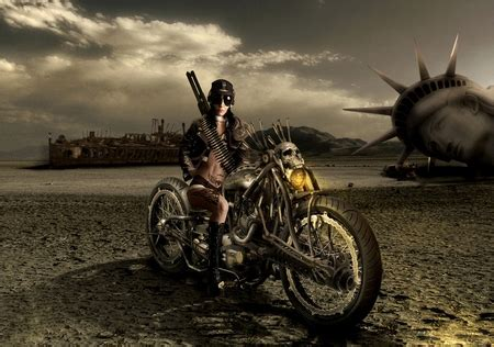 bike rider   cg abstract background wallpapers