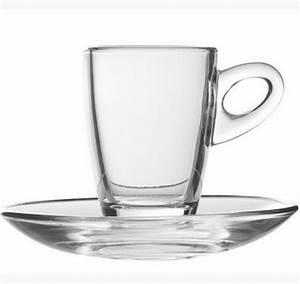 Tasse En Verre : sous tasse en verre pour tasse caf dolce 7cl ~ Teatrodelosmanantiales.com Idées de Décoration