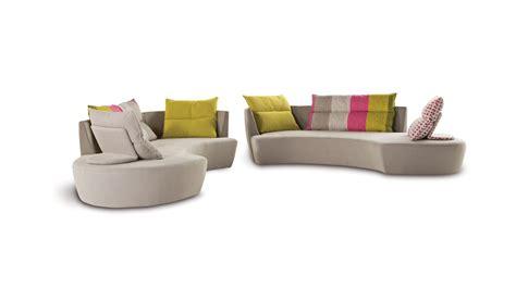 canap駸 roche bobois tissu canape d angle arrondi maison design wiblia com