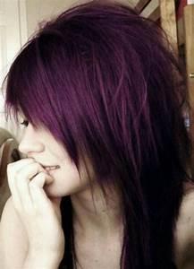 love this plum-purple hair color | Curly Hair | Pinterest ...