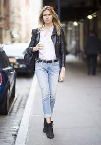 10 ideas para combinar tus jeans en la oficina y el fru00edo u2013 Dale mobilidad a tu look