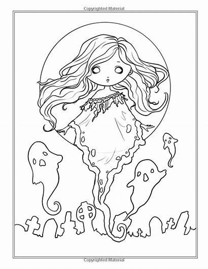 Coloring Creepy Fantasy Selina Adult Fenech Books