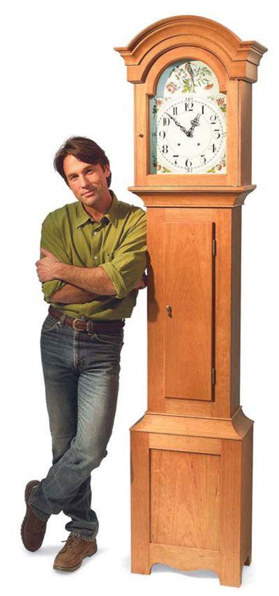 grandfather clock diy standing clock plans