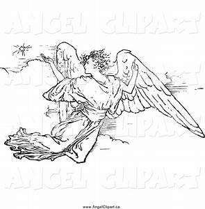 Royalty Free Retro Stock Angel Designs