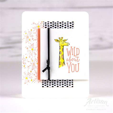 wild   animal outing card   giraffe