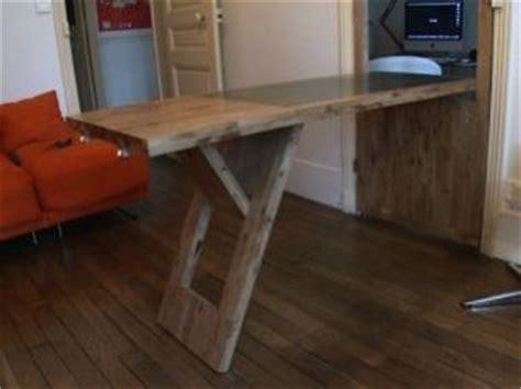 diy comment fabriquer une table pliable avec une porte int 233 rieurs fr meubles fabrication