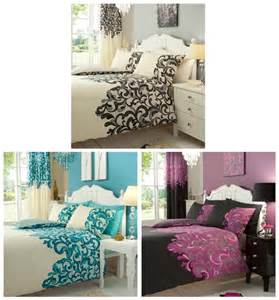 bed in a bag duvet cover set sheet matching curtains