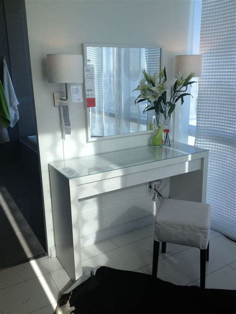 makeup vanity with lights ikea malm vanity table ikea makeup vanity ideas pinterest