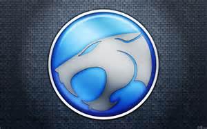 Thunder Cats Logo Blue