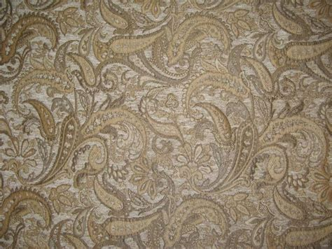 Upholstery Fabric Width by Chenille Upholstery 57 Quot Wide Paisley Drapery