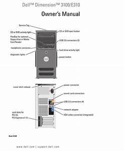 Dell Dimension 3100 Owner U0026 39 S Manual Pdf Download