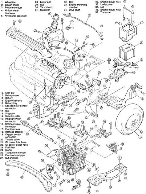 1993 mazda mpv engine diagram