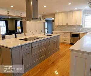 painted shaker style kitchen cabinets homecrest cabinetry With what kind of paint to use on kitchen cabinets for location stickers